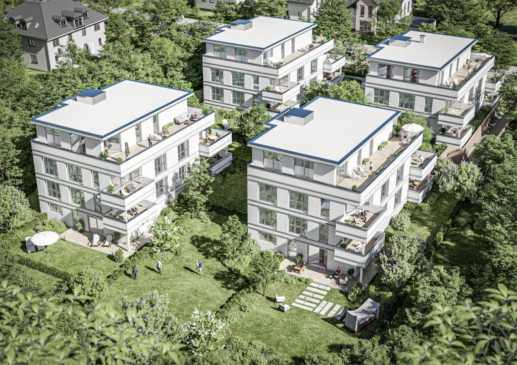 Stadtvillen mit Eigentumswohnungen